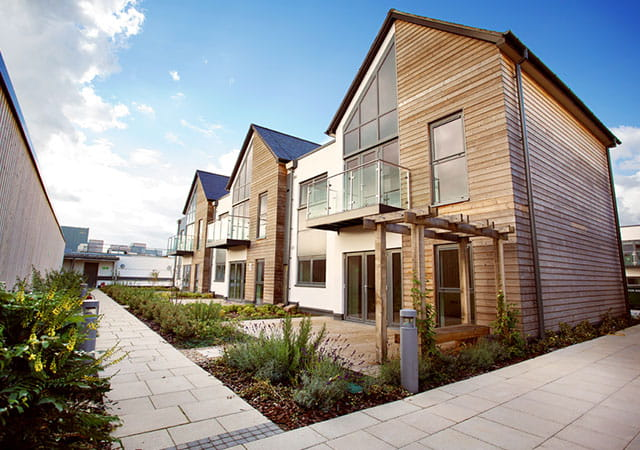 Parkway Development, Newbury, selection of houses