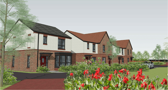 100% affordable housing scheme, York