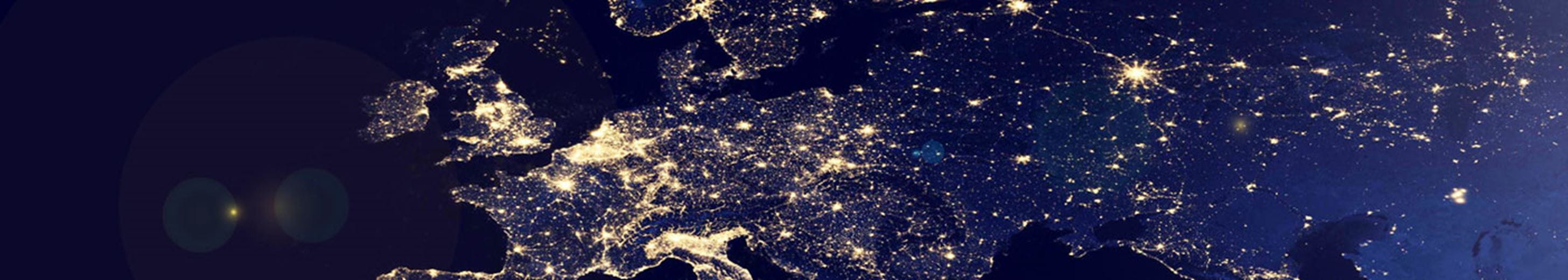 Western Europe from Space