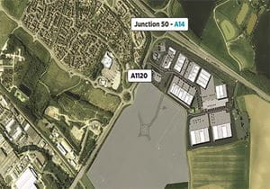 Carter Jonas secures resolution to grant planning permission at Stowmarket East