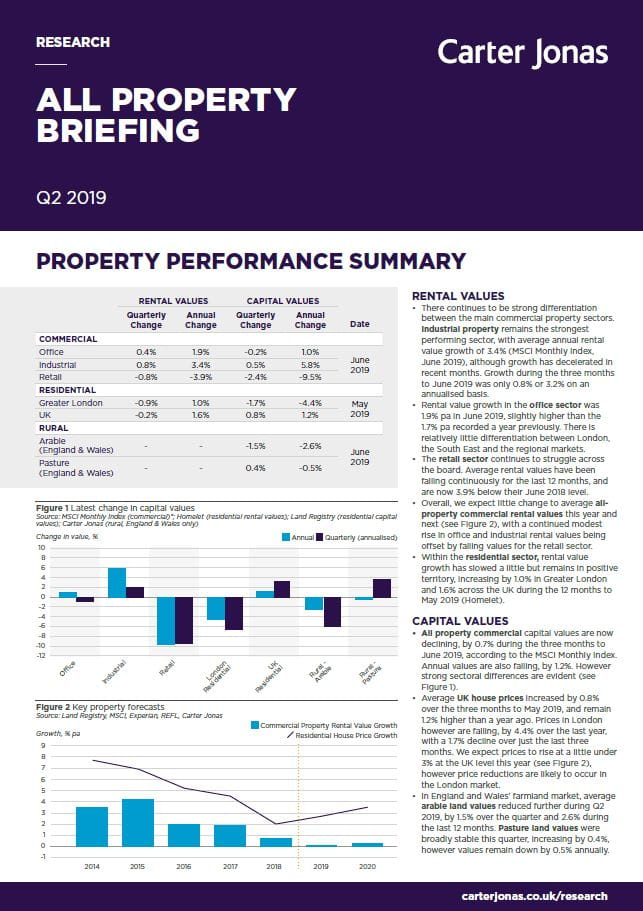 All Property Briefing | Q2 | 2019