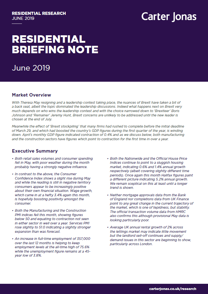 Residential Briefing Note