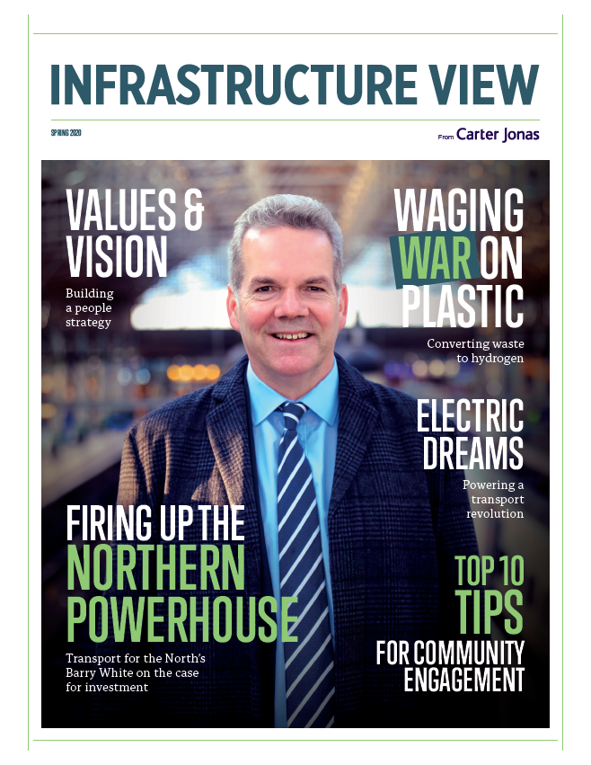 Infrastructure View Spring 2020 Magazine Front Cover