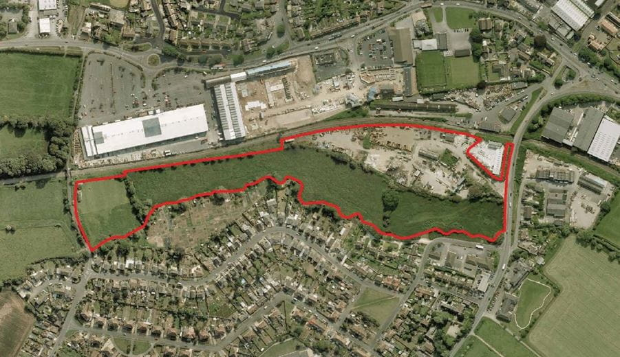 14.6 acres , Upside Business Park, Roundponds SN12 - Available