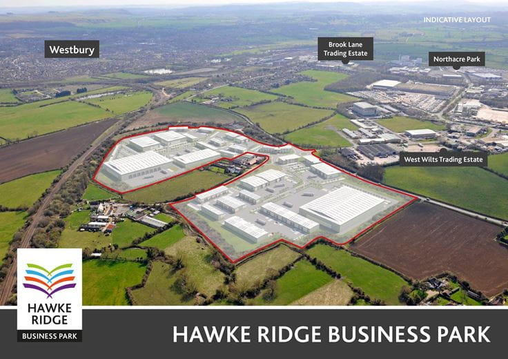 1,000 to 250,000 Sq Ft , Hawke Ridge Business Park BA13 - Available
