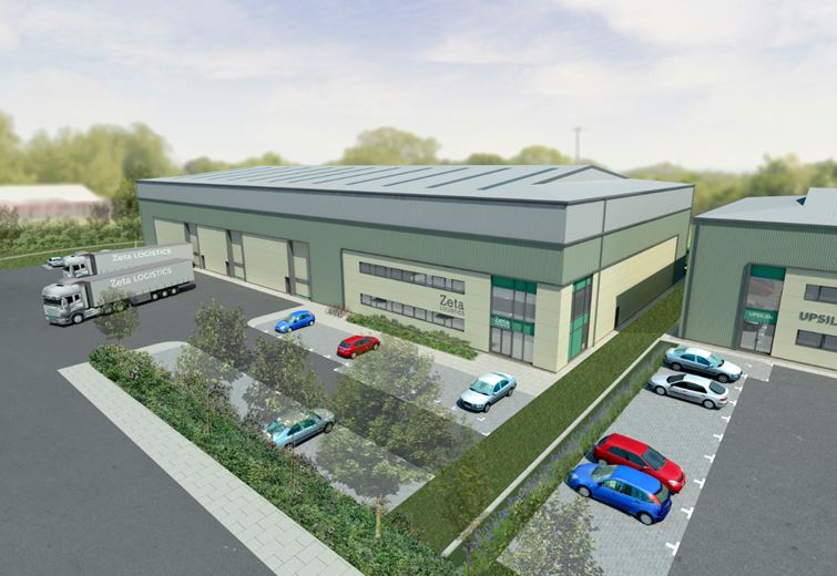 36,333 Sq Ft , Merlin 1, Hawke Ridge Business Park  BA13 - Available