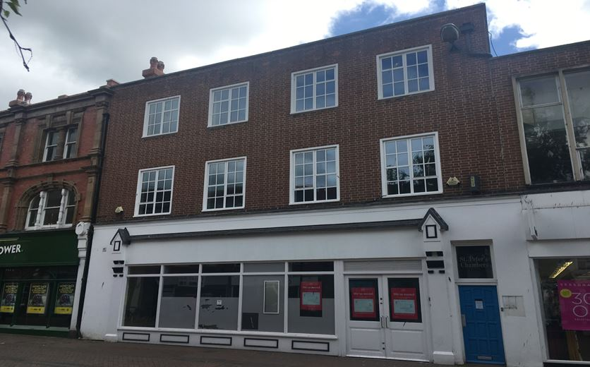 5,320 Sq Ft , 14-15A St Peters Street HR1 - Available