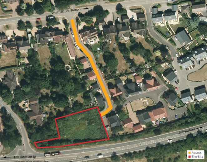 0.4 acres , Moorfield Road, Whittlesford CB22 - Under Offer
