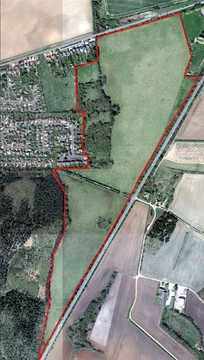 87.2 acres , Land At Knight's Hill, South Wootton, King's Lynn, No PE30 - Available