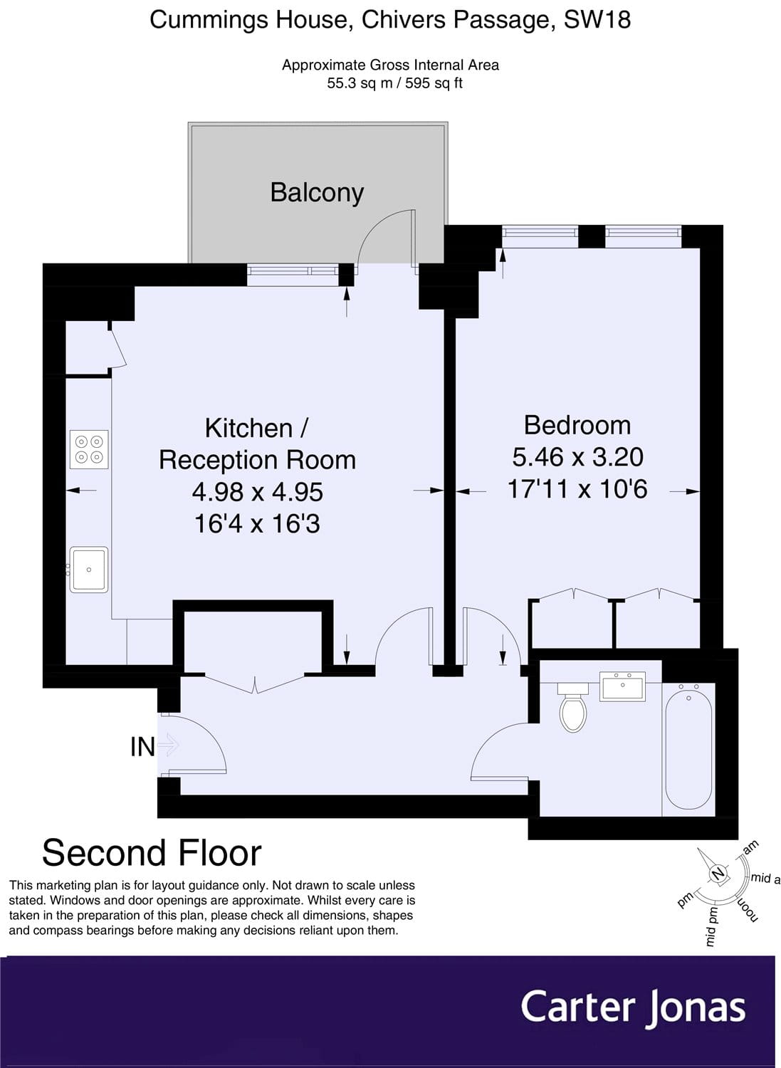Flat for sale in 11 Chivers Passage, The Ram Quarter, SW18