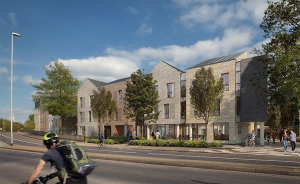 154 bedroom student development scheme granted planning permission