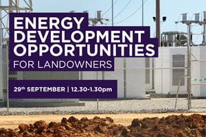ENERGY DEVELOPMENT OPPORTUNITIES FOR LANDOWNERS